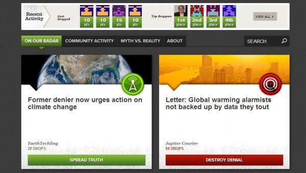 Reality Drop, climate change