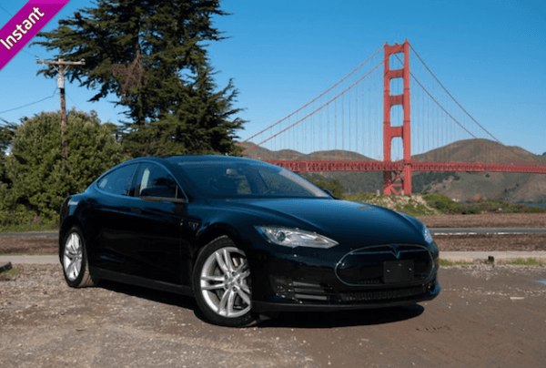 Getaround, car sharing, Tesla