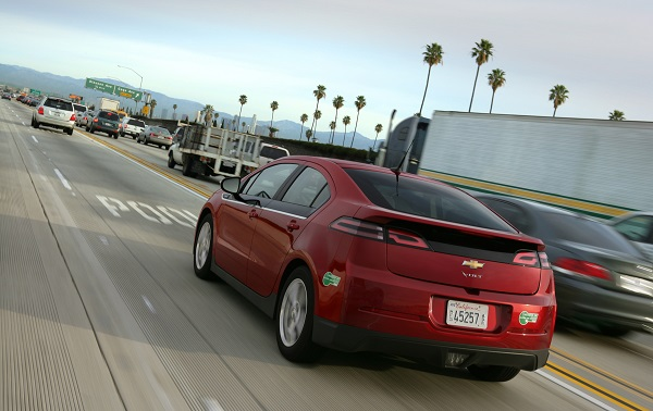 2013 Chevy Volt (image via GM)