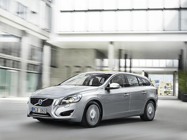 2013 Volvo V60 PHEV station wagon