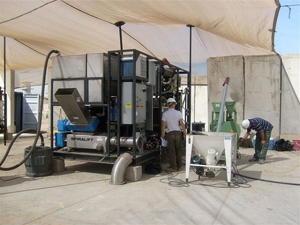 Field Garbage-to-Energy Tested in Iraq