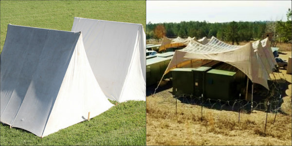 Army energy efficient tents