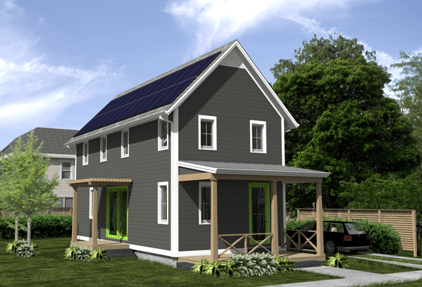 Low Budget Home Design Keeps It Simple Saves Energy Earthtechling
