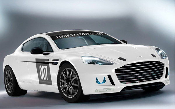 Hybrid Hydrogen-powered Rapide S