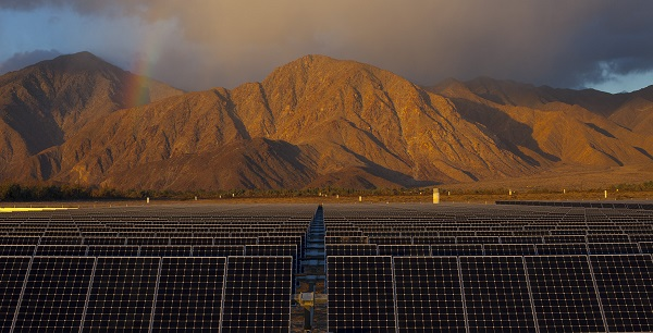 The Borrego 1 Solar Generating Station in California (image via NRG)