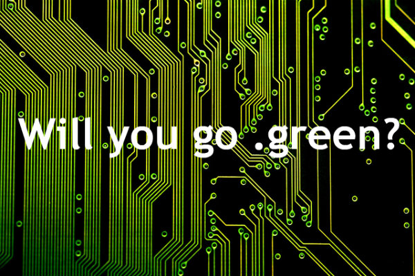 dot green circuit board