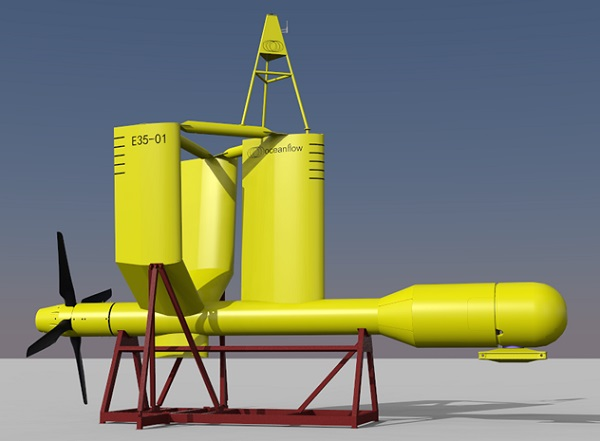 tidal power oceanflow energy evopod