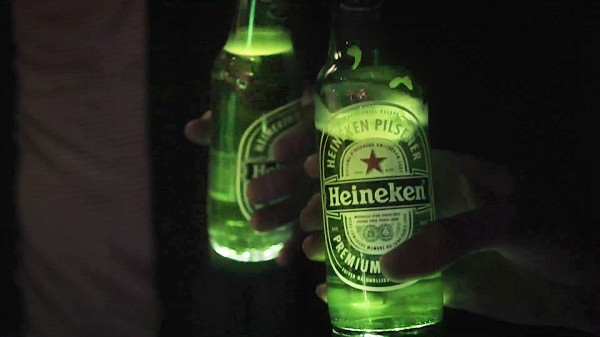heineken ignite LED bottle 1