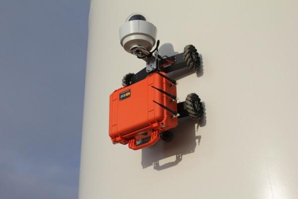 helical robotics wind turbine robot