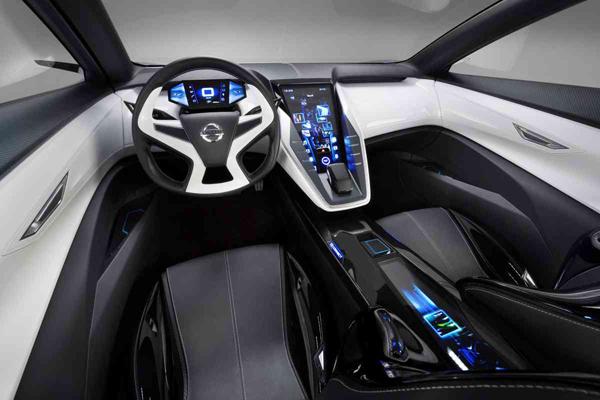 Nissan Friend-Me interior (image vi Nissan)