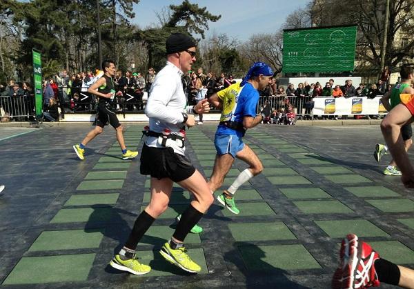 paris marathon pavegen