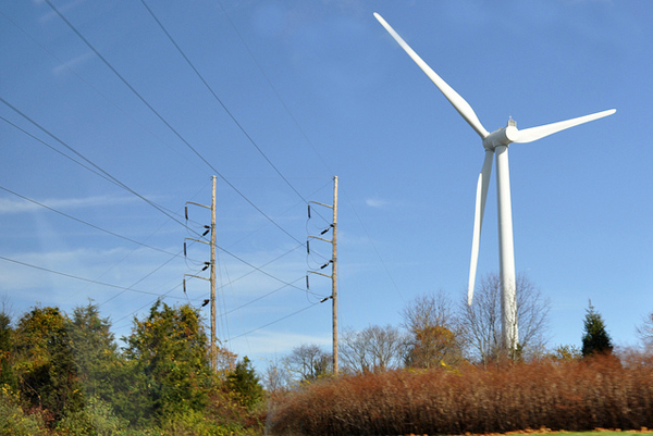 wind power in Rhode Island