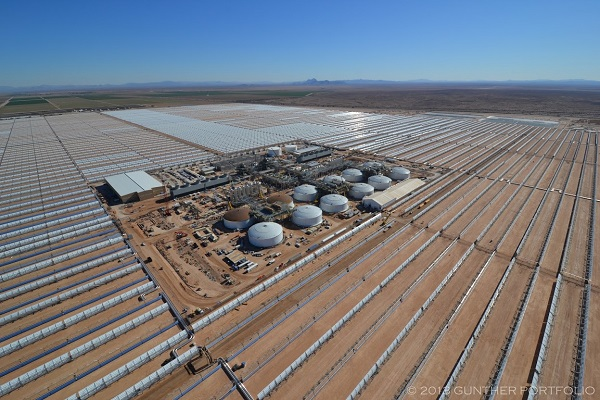 ... at the Solana Generating Station can efficiently store solar power