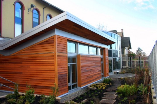 The Bertschi School's Living Building science wing. Image via Bertschi School.