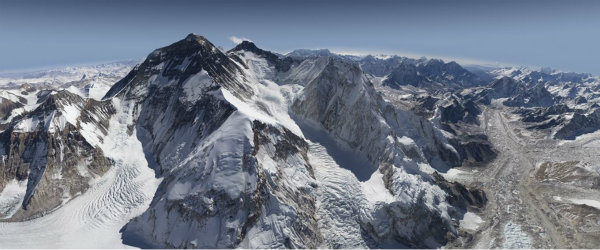 Everest Rivers of Ice