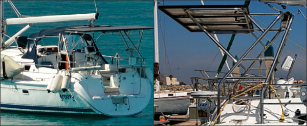 Groovy Solar Sailboat Collage