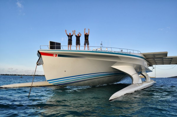 PlanetSolar Boat Sets World Record 2