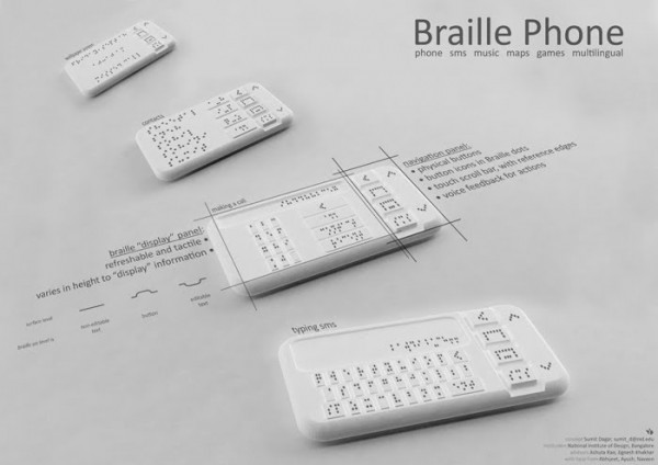 braille smartphone