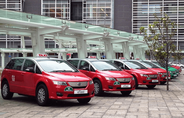 byd 56 taxis