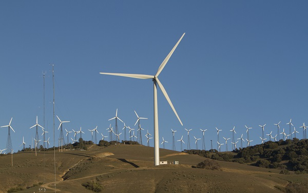 GE brilliant wind turbine
