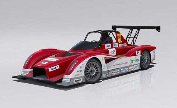 Mitsubishi MiEV Evolution II race car prototype