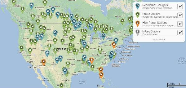 plug share map