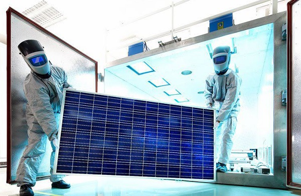 solar china dispute