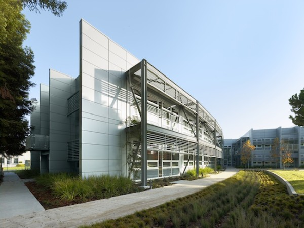 The NASA Sustainability Center, located at the Ames Research Center in Mountain View, Calif. Image by Cesar Rubio via William McDonough + Partners.