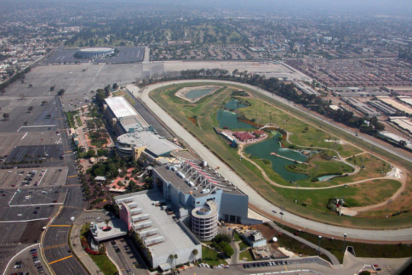 The 75-year-old racetrack will close at the end of racing season to make way for a new eco-friendly community. Image via A/N Blog.