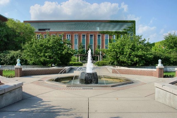 Michigan State University's Plant Biology Laboratory building is one of several structures committed to the Better Buildings Challenge, achieving a 10 percent reduction in energy use. Image by Jeffness via Wikimedia Commons.