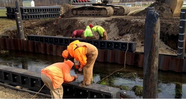 Axion Recycled Plastic Bridge Ohio
