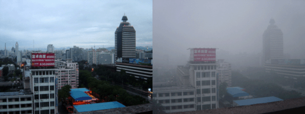 Beijing Smog Comparison
