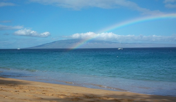 Will sustainable technology be an efficiency rainbow or a blight on the Hawaiian island of Lana'i? (image via Tommy Kissell/Greentech Advocates)
