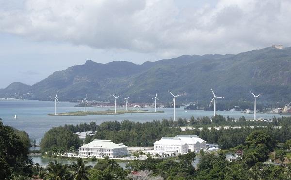 seychelles wind power