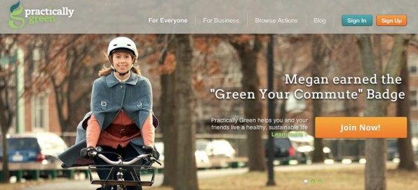 practically green, corporate social responsibility