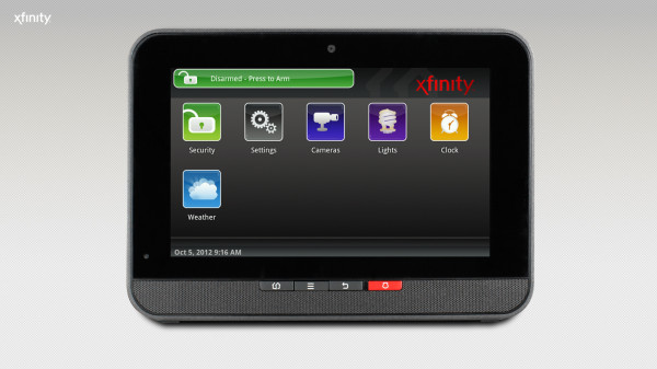 xfinity home controller
