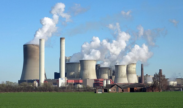 Niederaussem Power Station, Germany (image via Wikimedia Commons)