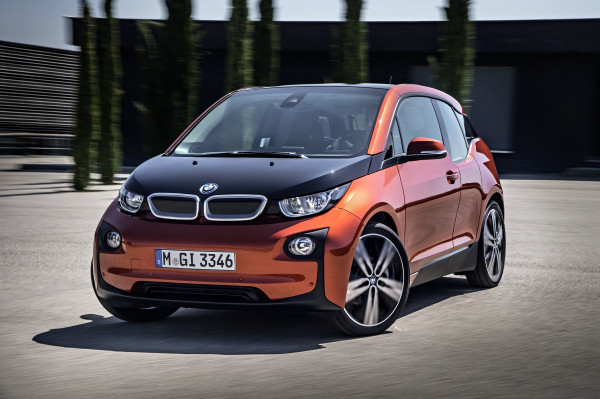BMW i3 (image via BMW)