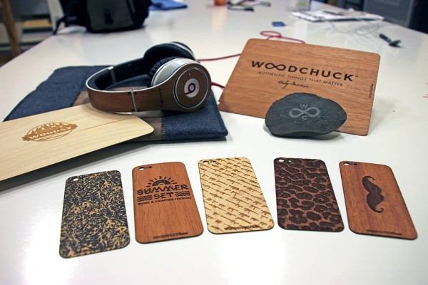 Woodchuck wood phone cases