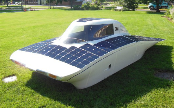 University of Michigan Solar Vehicle Project's Daedalus (image via UMSVP)