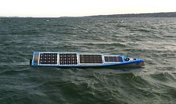 Scout Transatlantic robotic solar boat