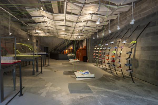 Nike Shanghai Store Recycled Trash