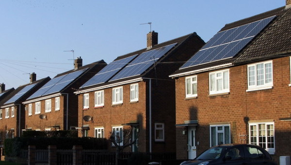 UK solar panels green deal