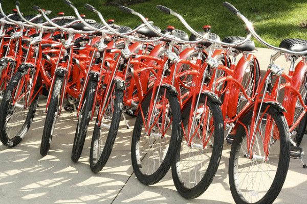 bike sharing doubles in U.S.