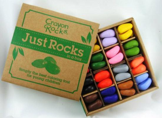 green back to school 2013 crayon rocks