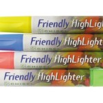 green back to school 2013 friendly highlighters