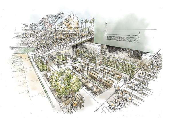 organic garden Giant's Stadium EDG Design