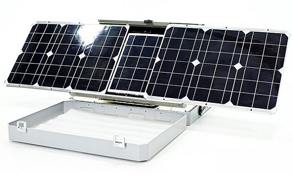 sun tracking solar charger