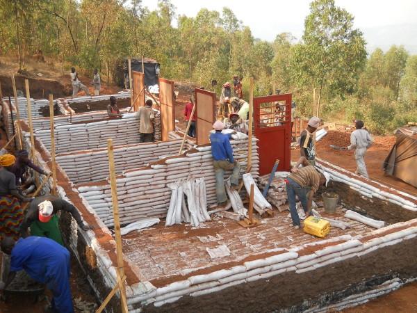 Earthbag Building Rwanda