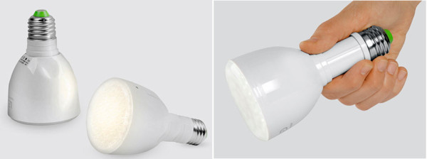 MoMA LED bulb flashlight